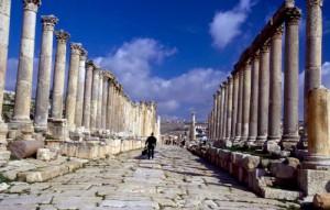Jordan, Jerash, Cardo maximus