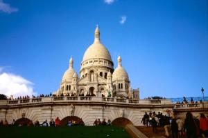 Paris Sacre Coeur quer