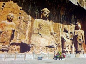 Henan Longmen-Grotten Detail