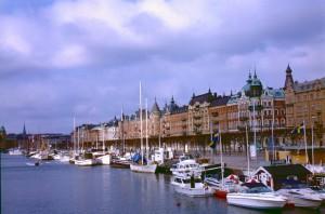 Stockholm Wasserseite
