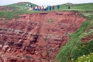 Helgoland roter Fels