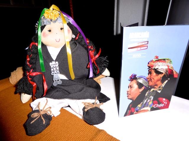 Chile Araukania Mapuche Puppe (1)